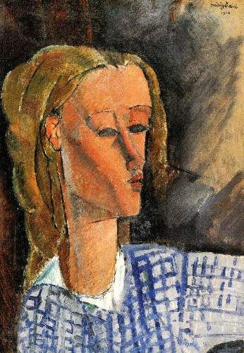 Modigliani - Portrait of Beatrice Hastings [3]